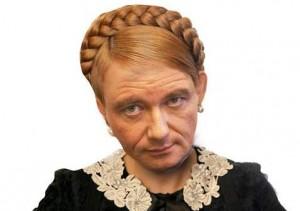 David Rath jako Tymošenková