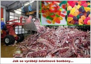Výroba želatinových bonbónů