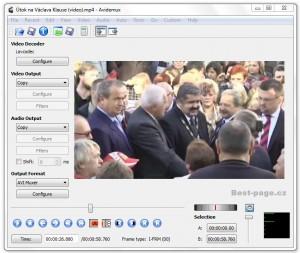 Avidemux-editor videa zdarma
