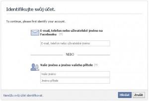Heslo Facebook