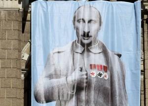 Putin jako Hitler