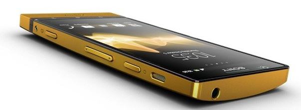 Sony Xperia P Gold
